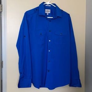Express Large MK2 fitted long sleeve button up